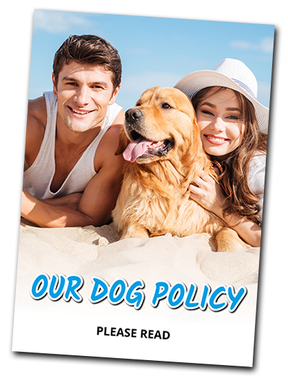 Please read our dog policy